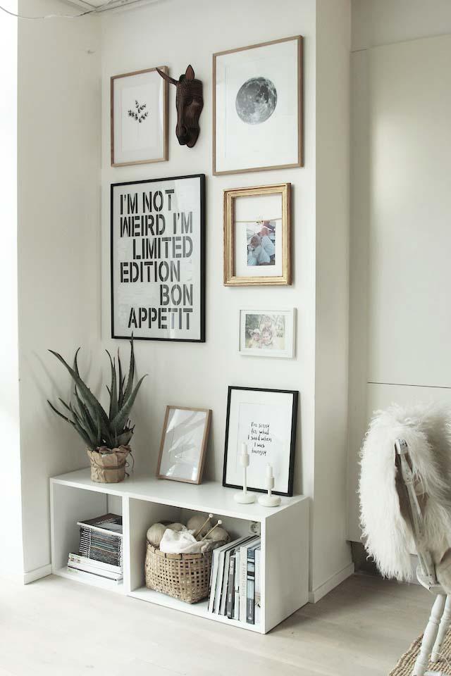 quadros sala decorada