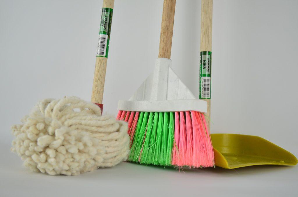 dicas de limpeza e organização foto